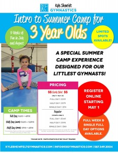 Summer Camp for 3 Year Olds