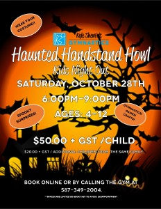 Oct 2017 Kids Night Flyer